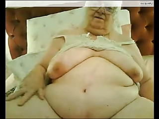 76y.o. Barbara plays on webcam