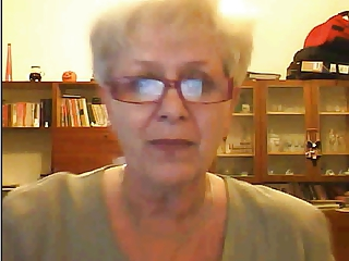 Granny showing tits on webcam