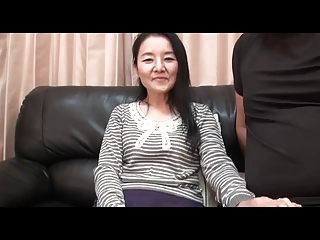56yr old Granny Takako Numai gets Cum Filled (Uncensored)